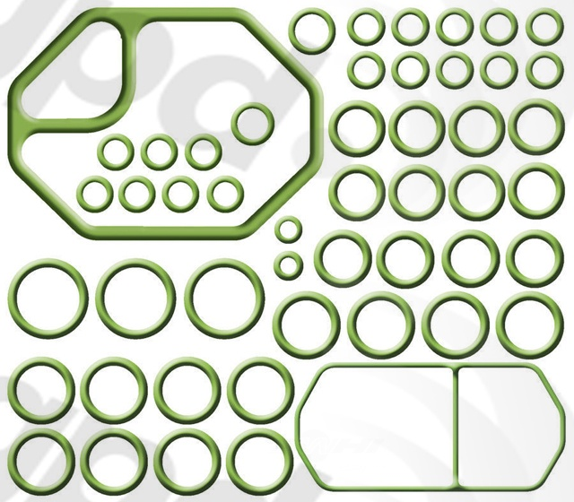 GLOBAL PARTS - A/c System O-ring & Gasket Kit - GBP 1321278