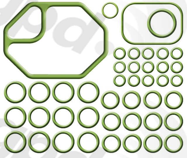 GLOBAL PARTS - A/C System O-Ring & Gasket Kit - GBP 1321283