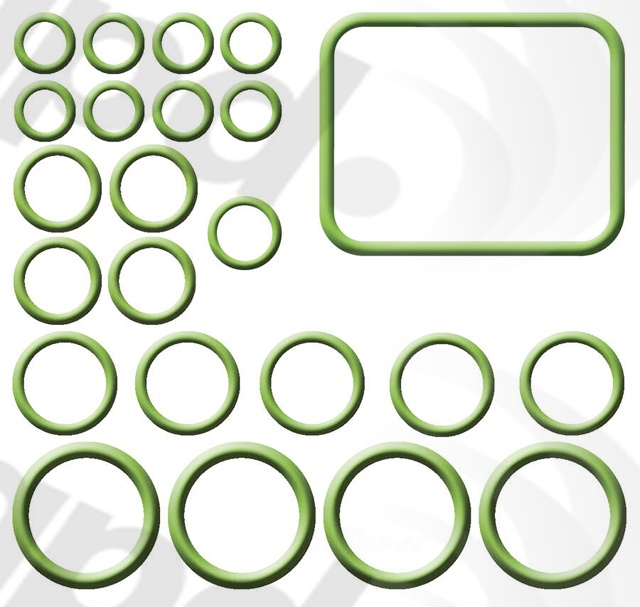 GLOBAL PARTS - A/c System O-ring & Gasket Kit - GBP 1321285