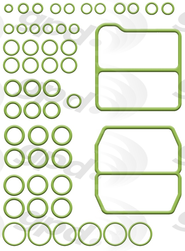 GLOBAL PARTS - A/c System O-ring & Gasket Kit - GBP 1321298