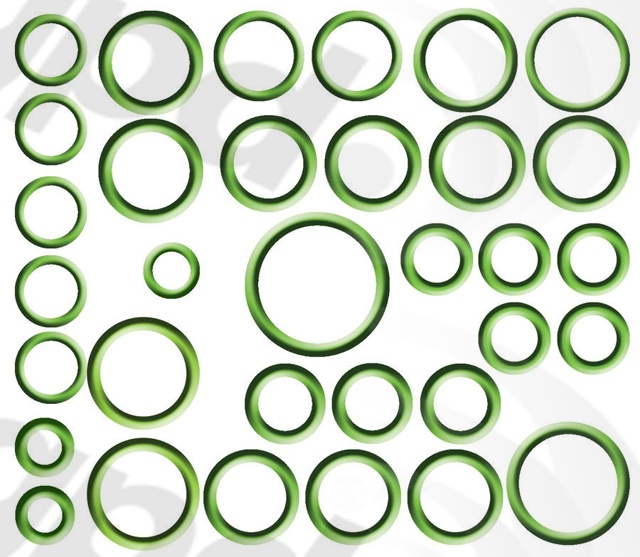 GLOBAL PARTS - A/C System O-Ring & Gasket Kit - GBP 1321306
