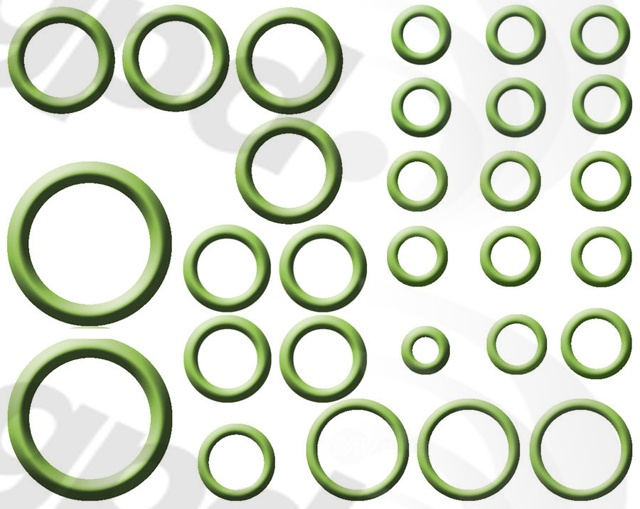 GLOBAL PARTS - A/C System O-Ring and Gasket Kit - GBP 1321310