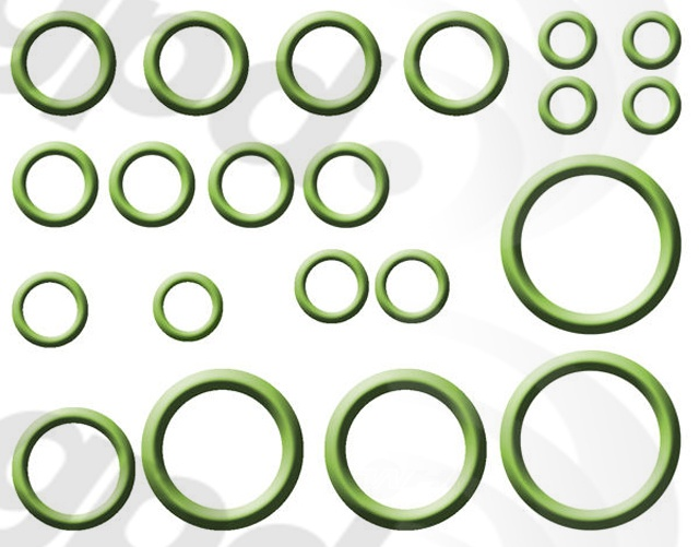 GLOBAL PARTS - A/C System O-Ring and Gasket Kit - GBP 1321322