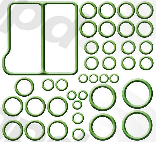 GLOBAL PARTS - A/C System O-Ring & Gasket Kit - GBP 1321323