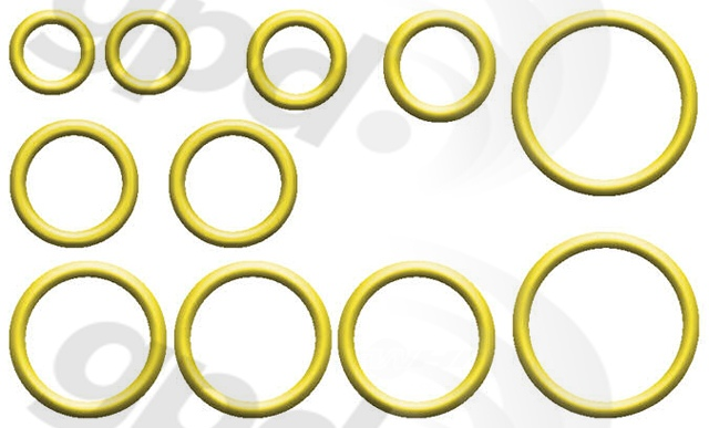 GLOBAL PARTS - A/c System O-ring & Gasket Kit - GBP 1321333