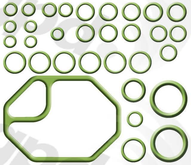 GLOBAL PARTS - A/C System O-Ring & Gasket Kit - GBP 1321340