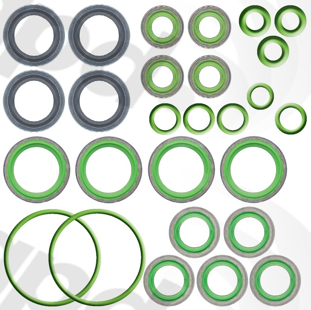 GLOBAL PARTS - A/C System O-Ring & Gasket Kit - GBP 1321343