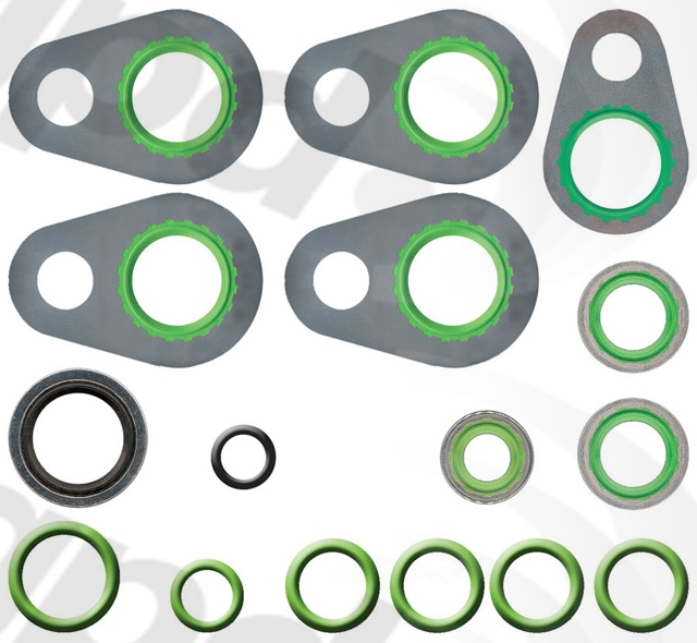 GLOBAL PARTS - A/C System O-Ring & Gasket Kit - GBP 1321346
