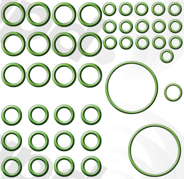GLOBAL PARTS - A/c System O-ring & Gasket Kit - GBP 1321347