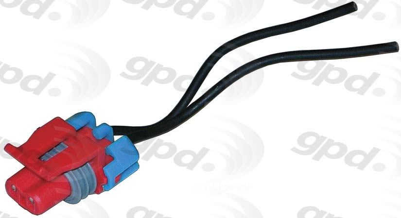 GLOBAL PARTS - A/c Compressor Cut-out Switch Harness Connector - GBP 1711880