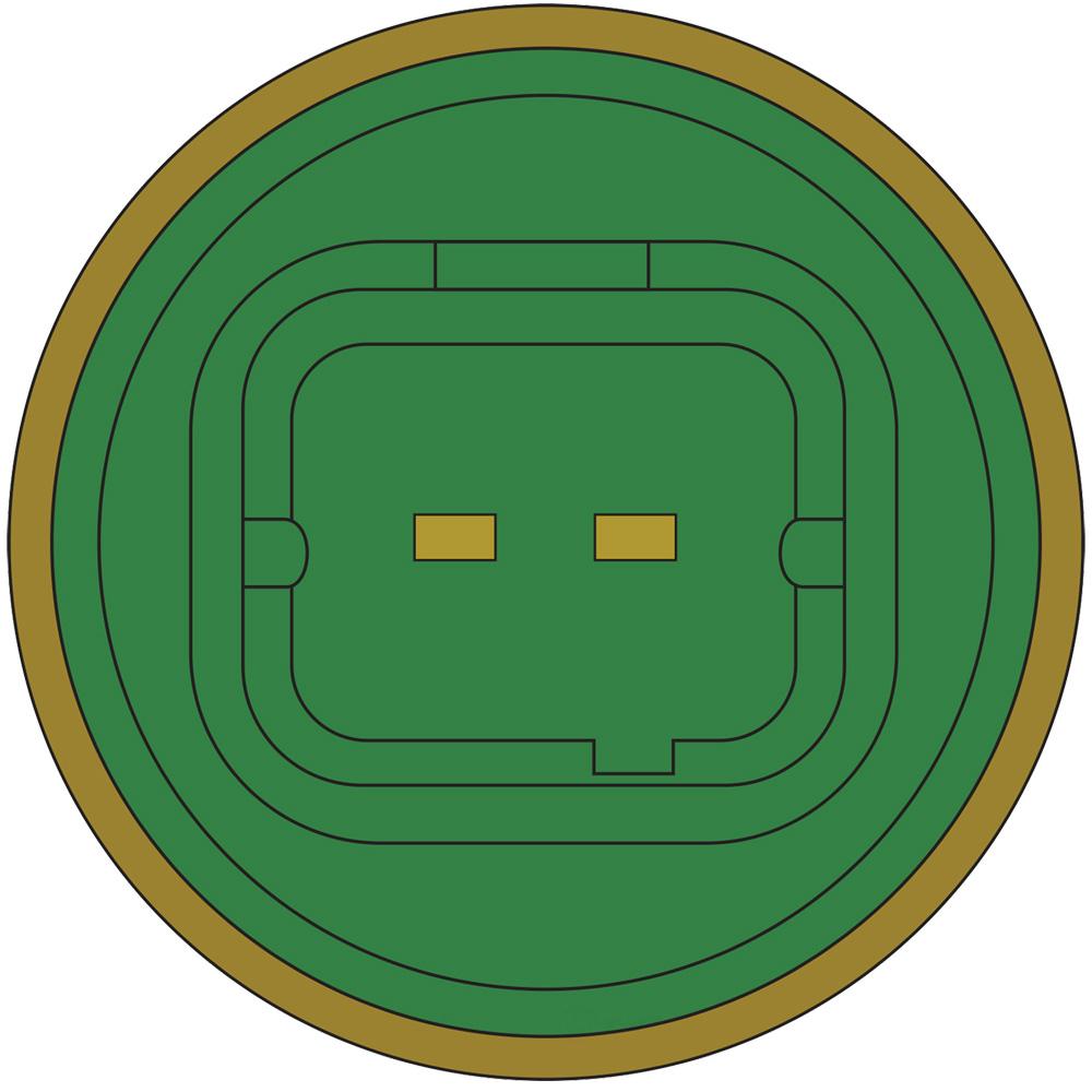 GLOBAL PARTS - Engine Coolant Temperature Sensor - GBP 1712560