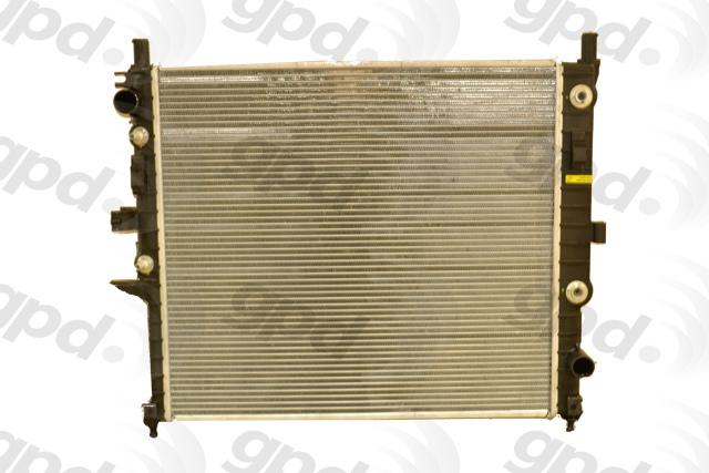 GLOBAL PARTS - Radiator - GBP 2190C