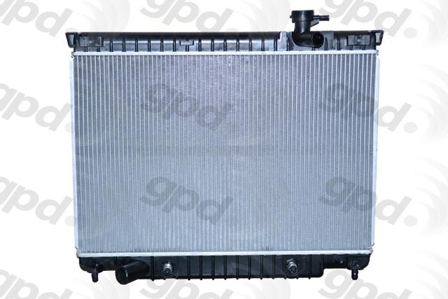 GLOBAL PARTS - Radiator - GBP 2458C