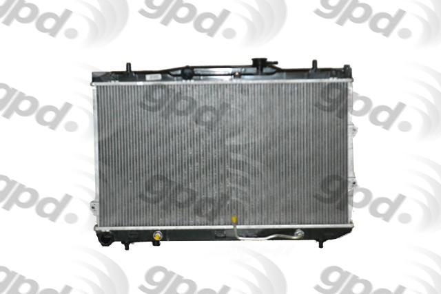GLOBAL PARTS - Radiator - GBP 2784C