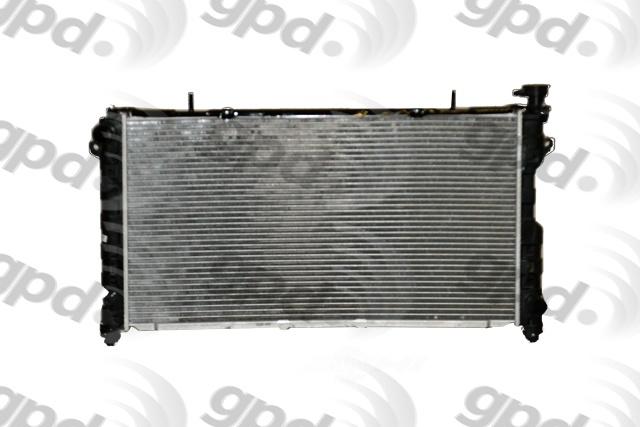GLOBAL PARTS - Radiator - GBP 2795C