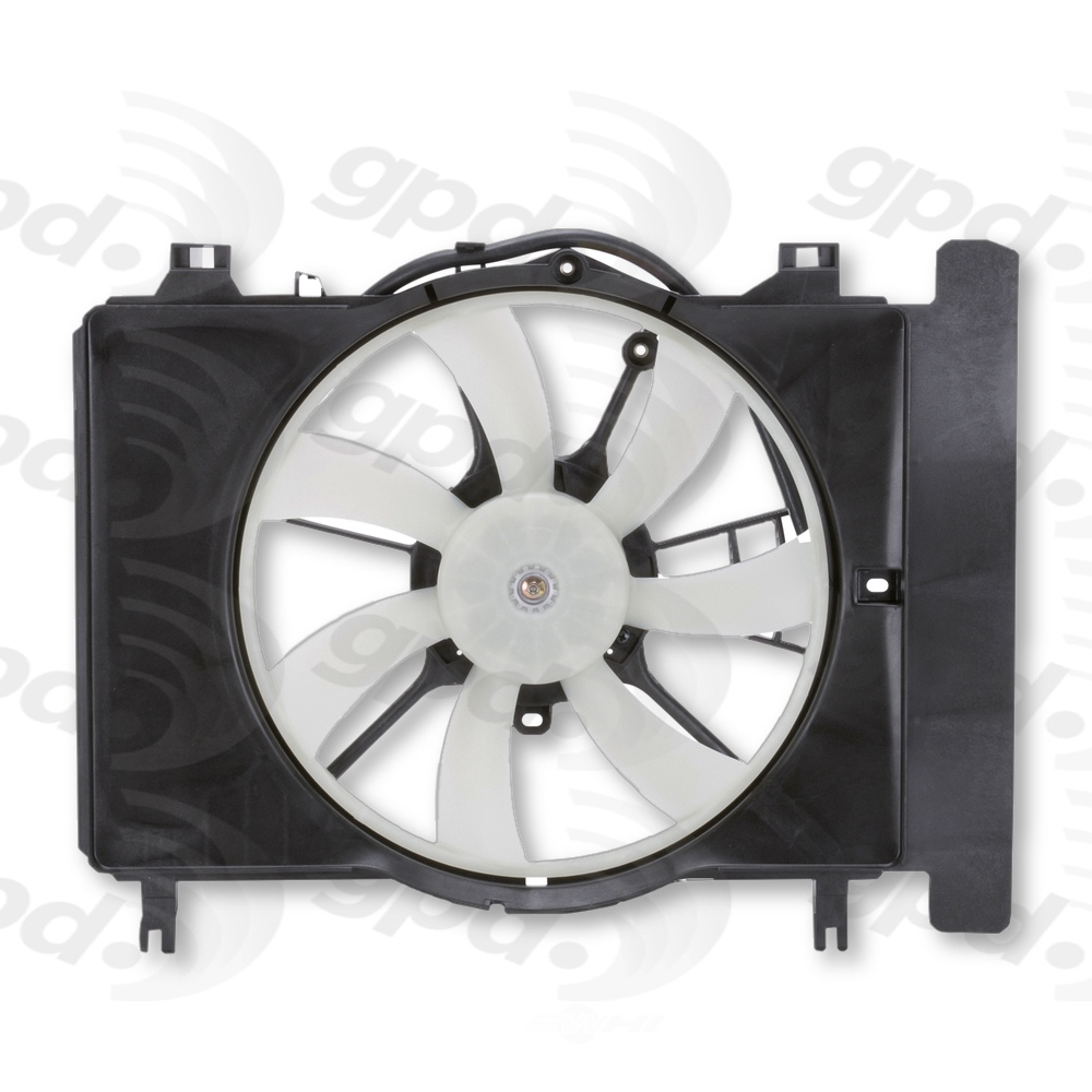 GLOBAL PARTS - Engine Cooling Fan Assembly - GBP 2811613