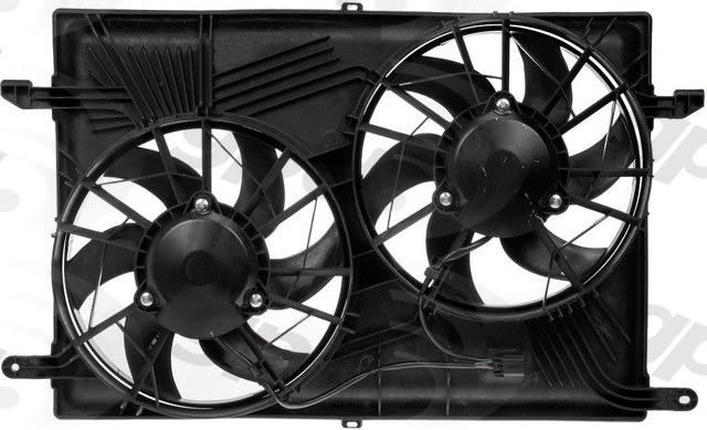 GLOBAL PARTS - Engine Cooling Fan Assembly - GBP 2811643