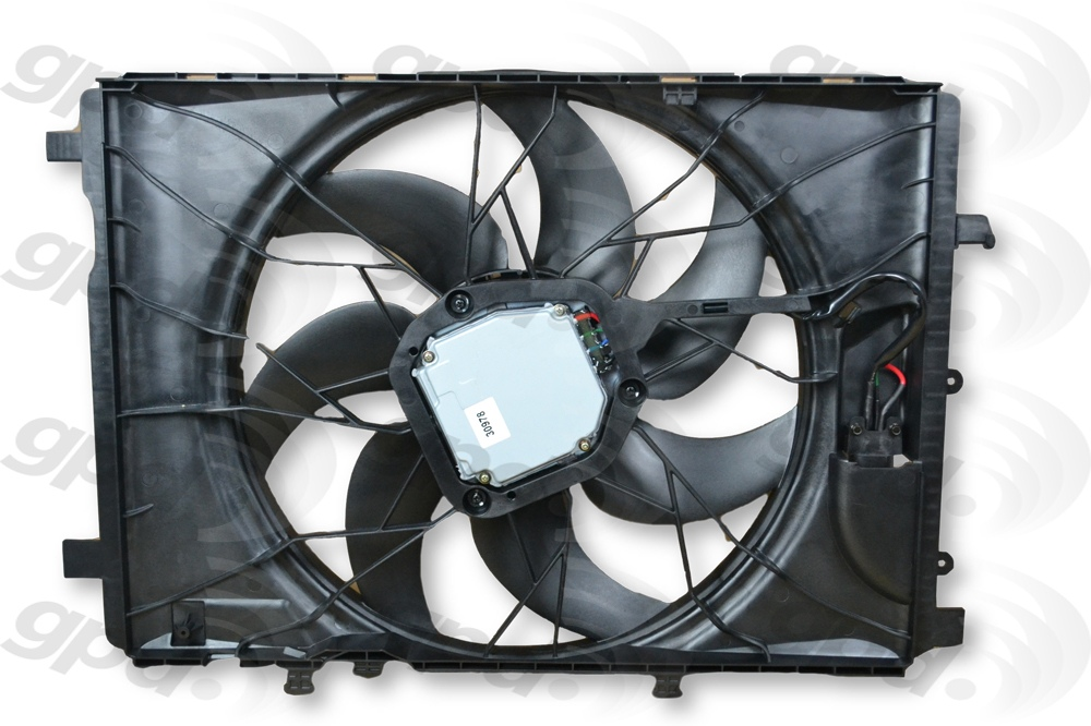 GLOBAL PARTS - Engine Cooling Fan Assembly - GBP 2811898
