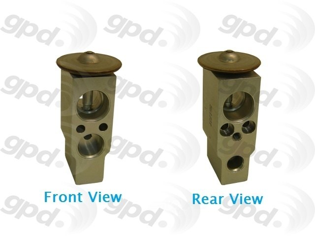 GLOBAL PARTS - A/C Expansion Valve - GBP 3411792