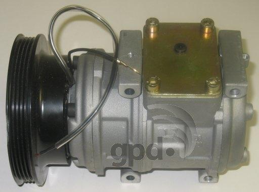 GLOBAL PARTS - Reman A/C Compressor - GBP 5511626