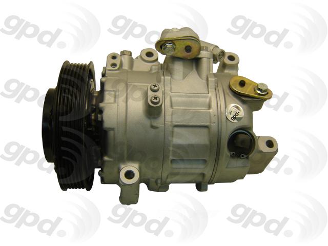 GLOBAL PARTS - Reman A/C Compressor - GBP 5512276