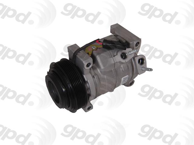 GLOBAL PARTS - Reman A/C Compressor - GBP 5512492