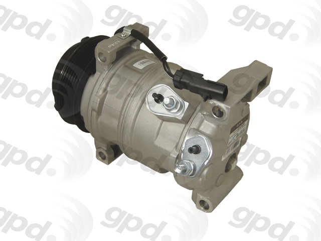 GLOBAL PARTS - New A\/C Compressor - GBP 6512420