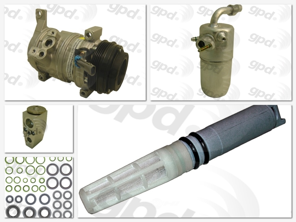 GLOBAL PARTS - Compressor Kit - GBP 9612813