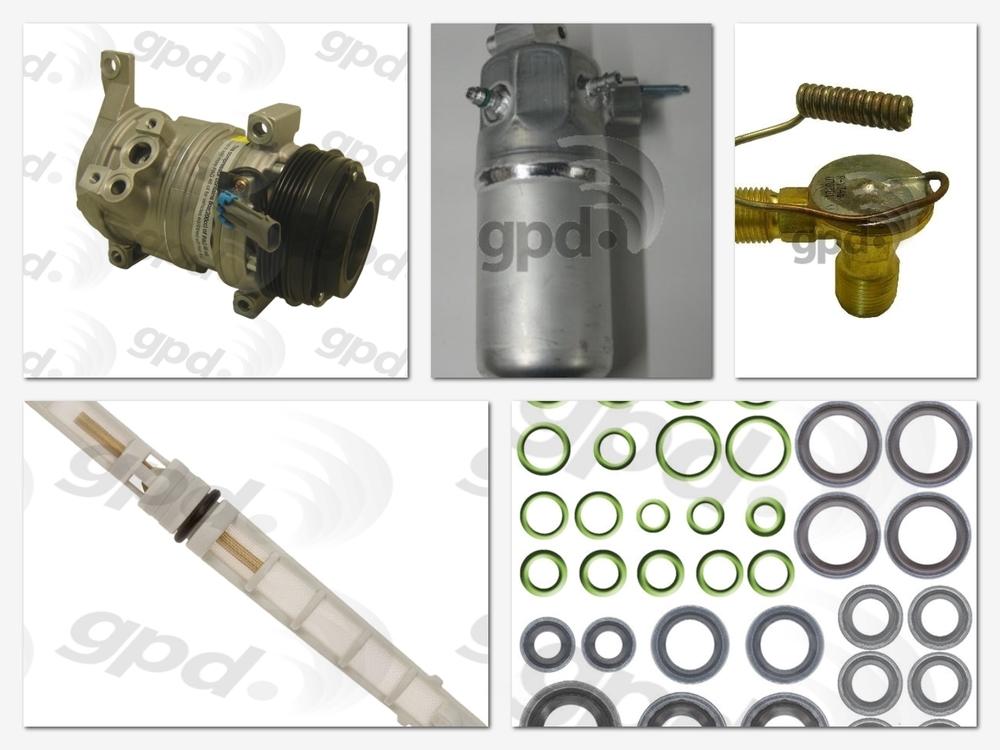 GLOBAL PARTS - Compressor Kit - GBP 9613252