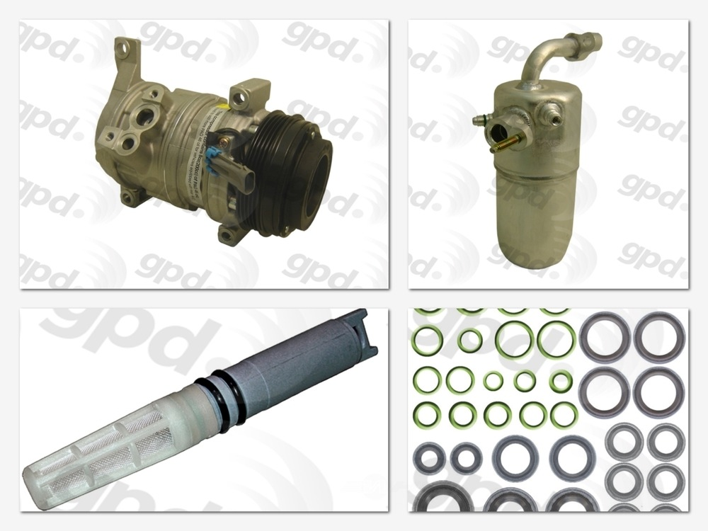 GLOBAL PARTS - Compressor Kit - GBP 9613312