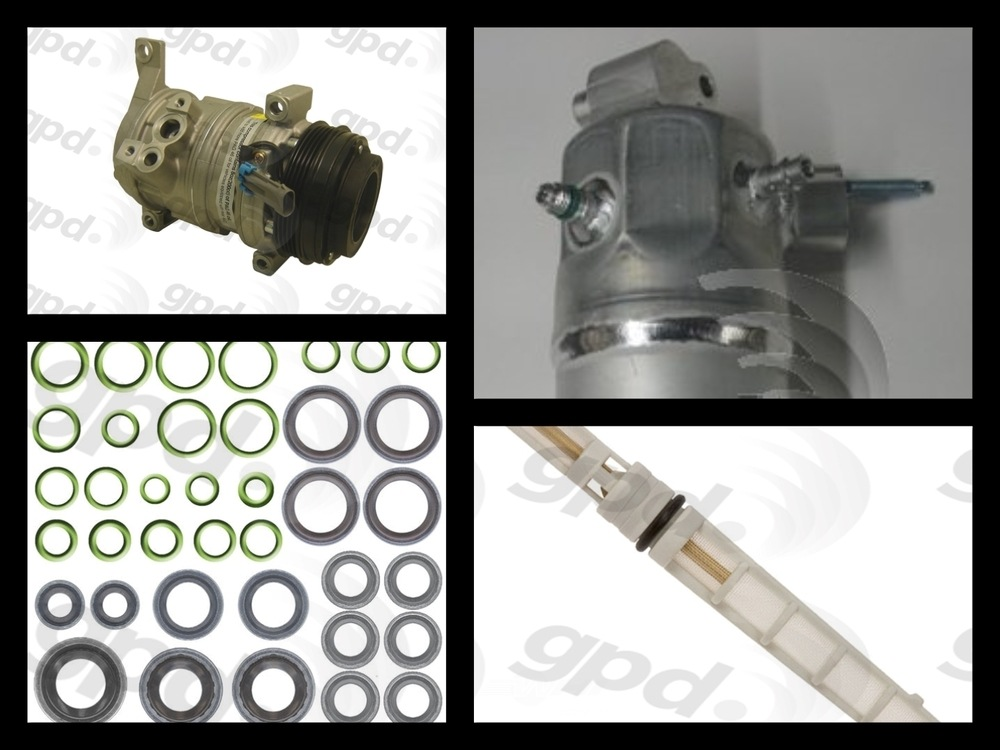 GLOBAL PARTS - Compressor Kit - GBP 9613332