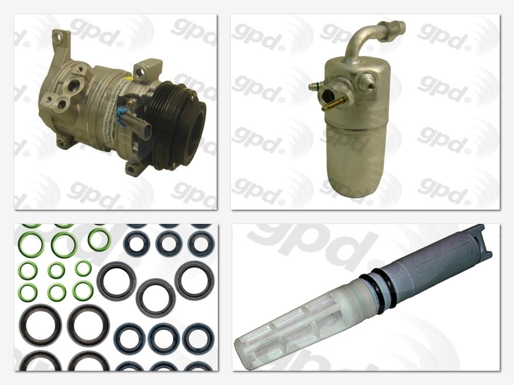 GLOBAL PARTS - Compressor Kit - GBP 9614753