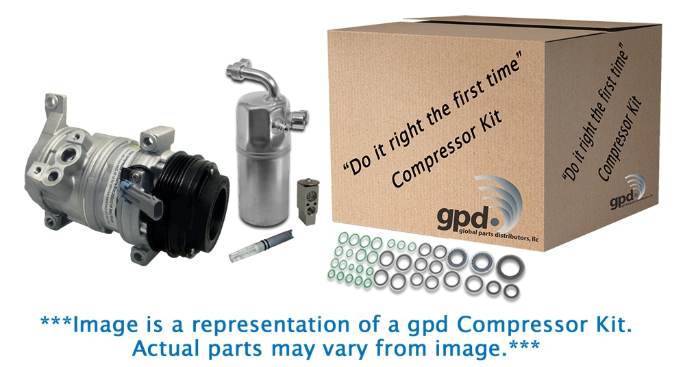 GLOBAL PARTS - Compressor Kit - GBP 9633005