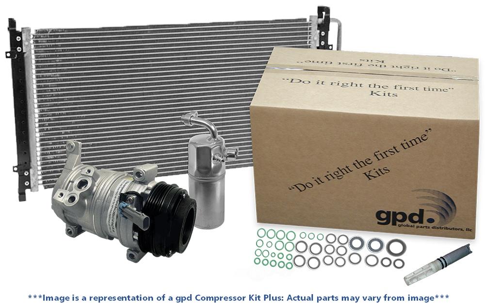 GLOBAL PARTS - New A/C Compressor Kit - GBP 9642613