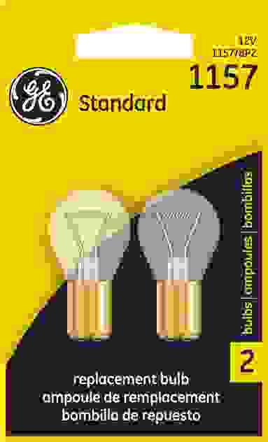 GE LIGHTING - Standard Lamp Twin Blister Pack Turn Signal Light Bulb - GEL 1157/BP2