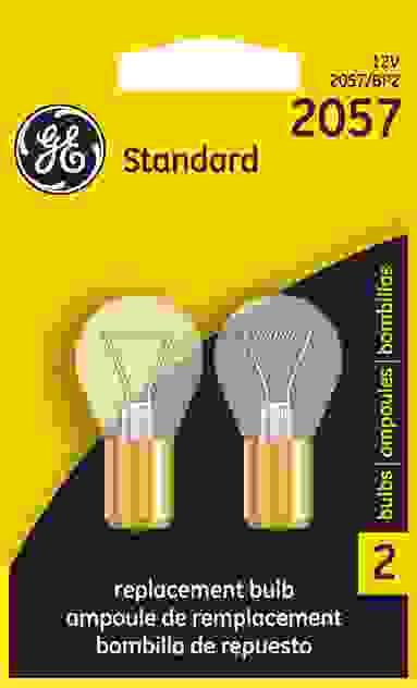 GE LIGHTING - Turn Signal Light Bulb - GEL 2057/BP2