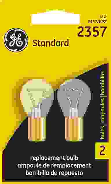 GE LIGHTING - Brake Light Bulb - GEL 2357/BP2