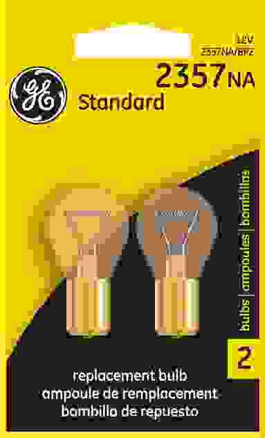 GE - Standard Lamp - Twin Blister Pack - GEL 2357NA\/BP2