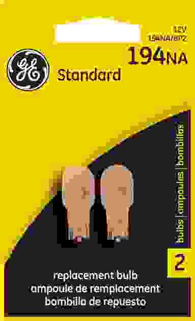 GE LIGHTING - Standard Lamp Roof Marker Light Twin Blister Pack - GEL 194NA/BP2