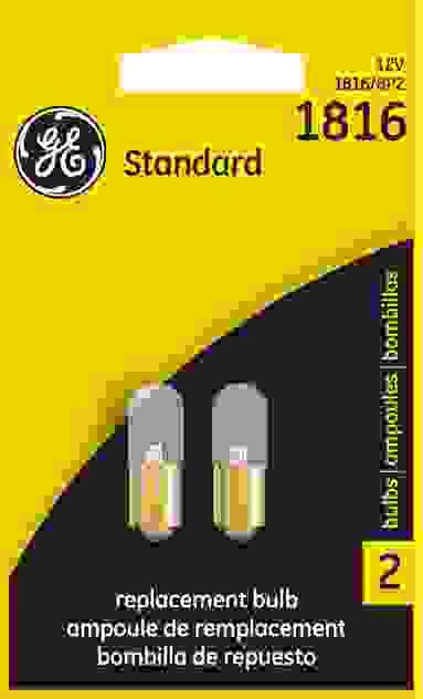 GE - Standard Lamp - Twin Blister Pack - GEL 1816\/BP2