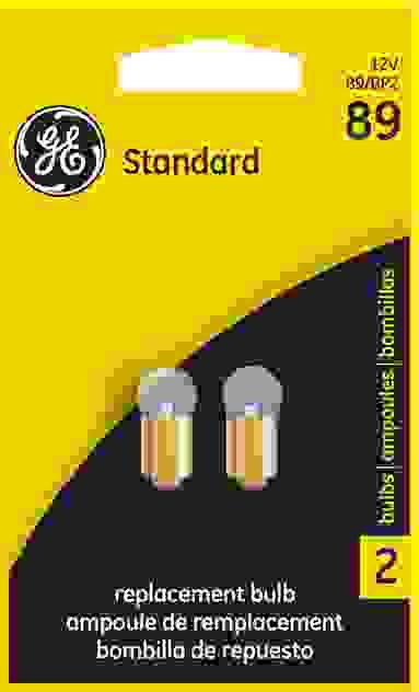 GE LIGHTING - Courtesy Light Bulb - GEL 89/BP2