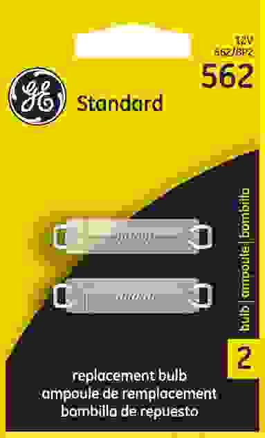 GE - Standard Lamp - Twin Blister Pack - GEL 562\/BP2