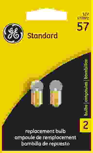 GE LIGHTING - Instrument Panel Light Bulb - GEL 57/BP2