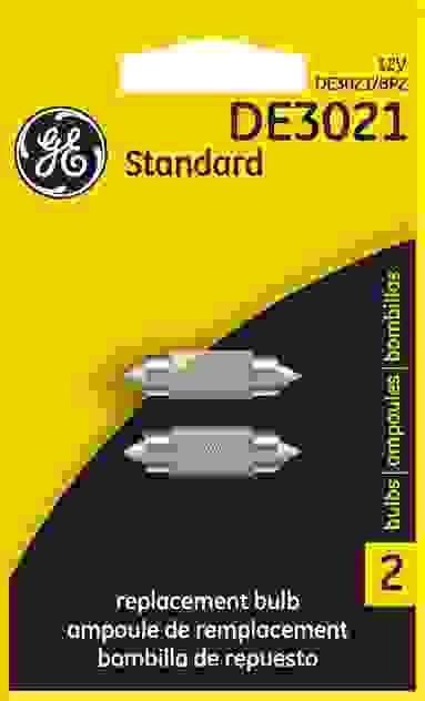 GE - Standard Lamp - Twin Blister Pack - GEL DE3021\/BP2