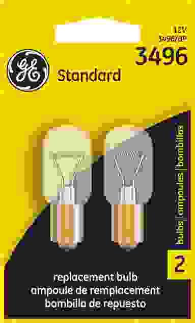 GE LIGHTING - Standard Lamp Single Blister Pack Tail Light Bulb - GEL 3496/BP