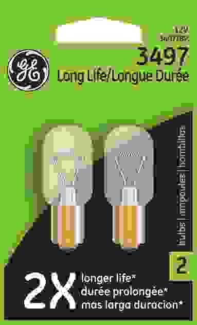 GE - Standard Back Up Light Bulb Lamp Single Blister Pack - GEL 3497\/BP