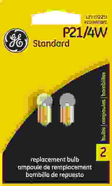 GE - Standard Lamp - Twin Blister Pack - GEL P21\/4W\/BP2