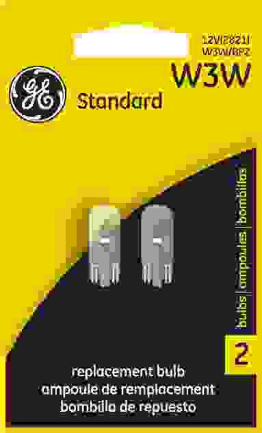 GE - Standard Lamp - Twin Blister Pack - GEL W3W\/BP2