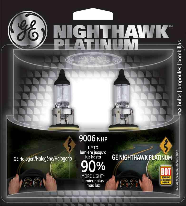 GE - Nighthawk Platinum - Twin Blister Pack - GEL 9006NHP\/BP2