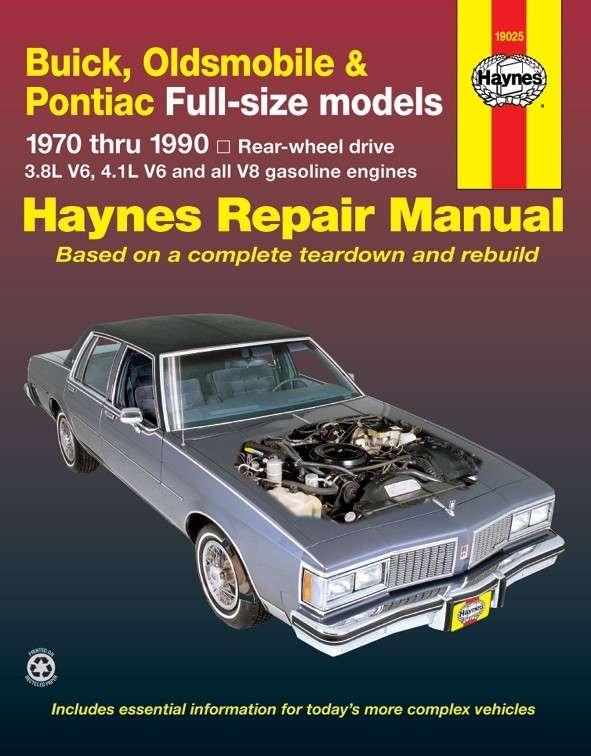 HAYNES - Repair Manual - HAN 19025